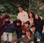 photo - Madrichim at Camp Miriam palling around in summer 1990. The author is in front