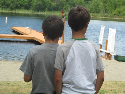 photo - Jewish summer camp combines land and water activities with learning about Israel and Judaism