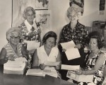 photo - Women organizing a mail-out for State of Israel Bonds, circa 1960