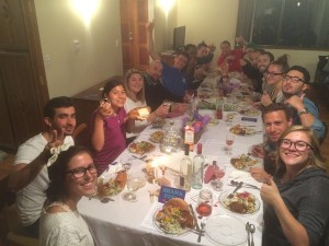 photo - The Jewish tradition of sitting down to a nice meal plays a large part at the Victoria Hillel House