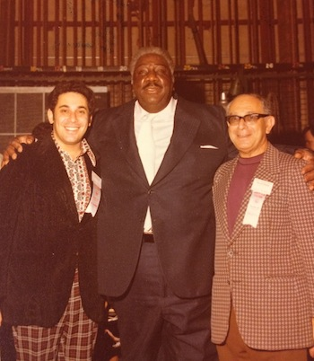 photo - Left to right, Jeffrey Barnett, Big Miller and Jack Barnett, in the 1970s/80s