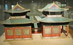 photo - A model of the Kaifeng synagogue at an exhibit at the Diaspora Museum in Tel Aviv in 2011