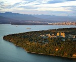 photo - An aerial view of the University of British Columbia campus