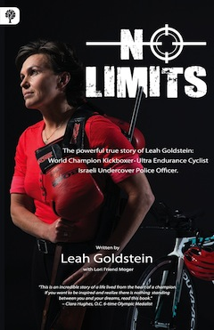 book cover - No Limits by Leah Goldstein