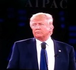 photo - Republican presidential hopeful Donald Trump upset AIPAC organizers when he criticized President Barack Obama