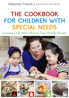 book cover - The Cookbook for Children with Special Needs