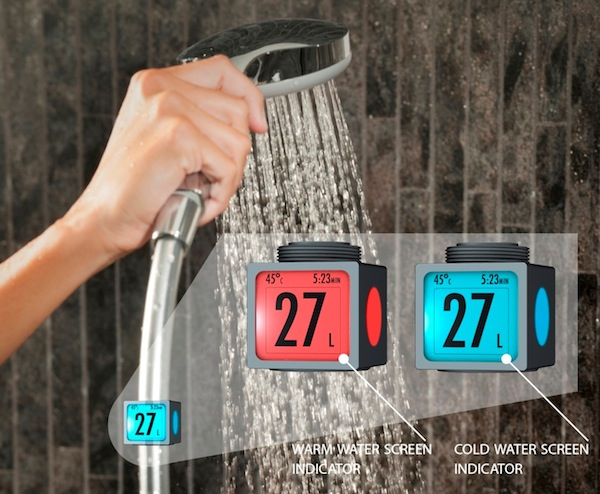 photo - BwareIT's SmartH2O home water meter makes it easy to watch water usage on any faucet