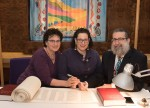 Hundreds scribe new Torah