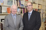 photo - Governor General of Canada David Johnston, left, with Chief Scientist of the State of Israel Avi Hasson