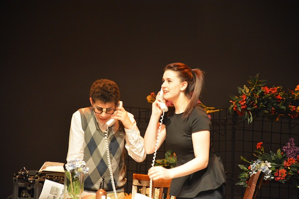 photo - Seymour (Daniel Shuchat) and Audrey (Sydney Freedman)