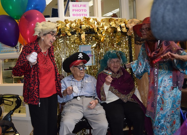photo - Residents get into the spirit of Purim