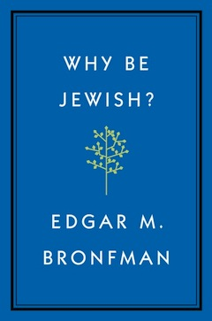 book cover - Why Be Jewish?