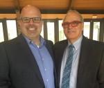 photo - Rabbi Dan Moskovitz, left, and Dr. Harold Troper