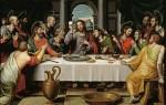 """The Last Supper,"" by Juan de Juanes (also known as Vicente Juan Masip), circa 1562, housed in Prado Museum"