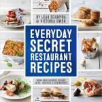 book cover - Everyday Secret Restaurant Recipes
