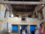 photo - Inside of Kadavumbagam Synagogue of Mattancherry, Cochin, facing what's left of the women's gallery