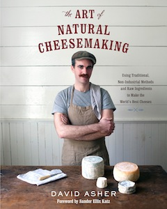 book cover - The Art of Natural Cheesemaking