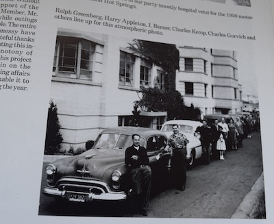 photo - A page from the program commemorating Shalom Branch 178's 70th anniversary
