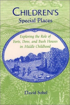 book cover - Children's Special Places: Exploring the Role of Forts, Dens and Bush Houses in Middle Childhood