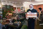 photo - Yosef Wosk with his collection of circus memorabilia, some of which can be seen in the Museum of Vancouver exhibit All Together Now: Vancouver Collectors and Their Worlds