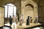 photo - The above display at the Tower of David Museum shows a variety of characters typical of Jerusalem in the 19th century in front of a fountain. Jerusalem's water system was restored during the rule of Sultan Suleiman the Magnificent; fountains (sabils) were built throughout the city, providing water to its residents and to visitors for generations