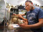 Antiquities officials raid store