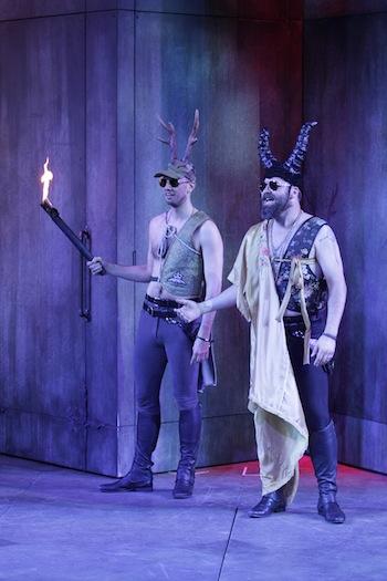 photo in Jewish Independent - Ben Elliott, left, and Andrew McNee shine in Romeo and Juliet