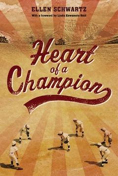 book cover - Heart of a Champion by Ellen Schwartz