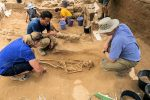 photo in Jewish Independent - The newly found Philistine cemetery in Ashkelon National Park