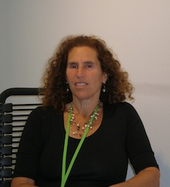 Jewish Independent photo - Linda Lando, director of the Sidney and Gertrude Zack Gallery