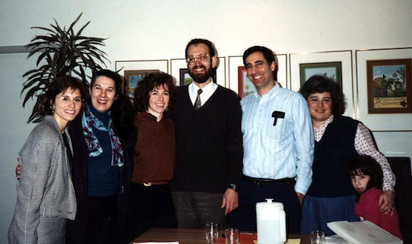 photo in Jewish Independent - These photos were taken at Hillel House, University of British Columbia, circa 1990