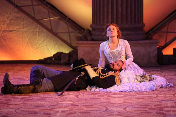 photo in Jewish Independent - Luc Roderique and Kayla Deorksen in Othello