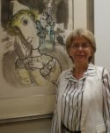 Chagall lithograph exhibit at Zack