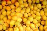 Yellow dates for New Year's