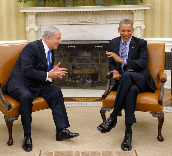 photo - Prime Minister Binyamin Netanyahu and President Barack Obama in Washington, D.C.