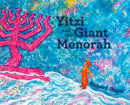book cover - Yitzi and the Giant Menorah