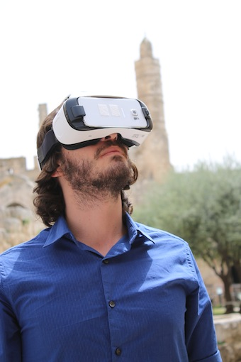 photo - Virtual reality in the actual reality of Tower of David Museum