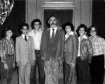 photo - [Chant Torah?] at Beth Israel Synagogue, 1979