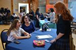 photo - During the afternoon of Character Day, King David High School hosted a fair at which students could learn about – and sign up for – volunteer positions in the Jewish community and around the city