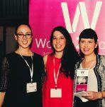 photo - Woman2Woman co-founders, from left, Efrat Dayagi, Keren Herscovici and Noya Lempert