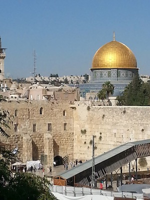 photo - Dome of the Rock is indivisible from a human – versus political – perspective