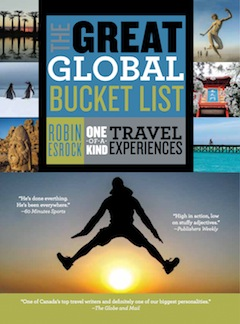 book cover - The Great Global Bucket List