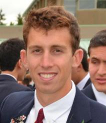photo - Matthew Segal at graduation