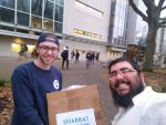photo - Chabad on Campus, student and other volunteers and Shabbat hosts made Shabbat Across UBC on Nov. 18 possible