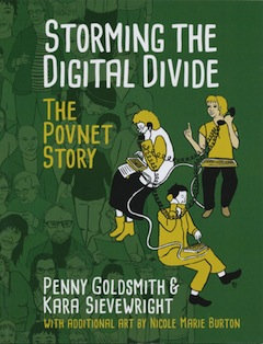 book cover - Storming the Digital Divide