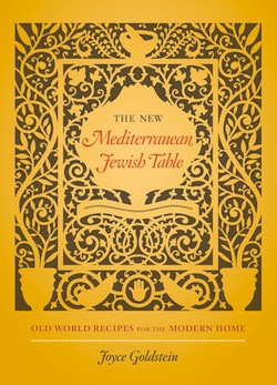 book cover - The New Mediterranean Jewish Table