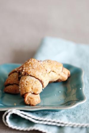 photo - Rosie Daykin's chocolate hazelnut rugelach