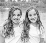photo - Sarah, left, and Amy came back from Jewish camp gushing with the joy of Judaism