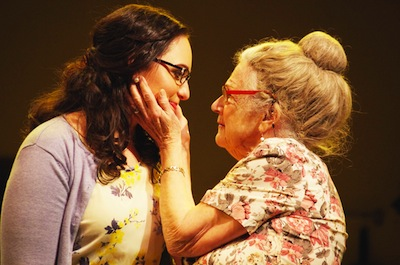 photo - Bubbie (Joan Koebel) will do almost anything to see her granddaughter, Izzy (Nina Tischhauser), married