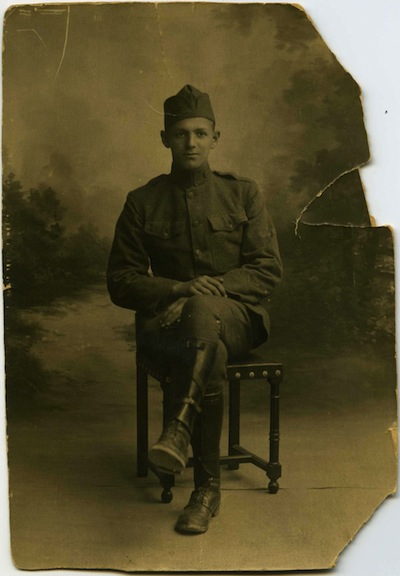 photo - Joseph Seidelman in uniform